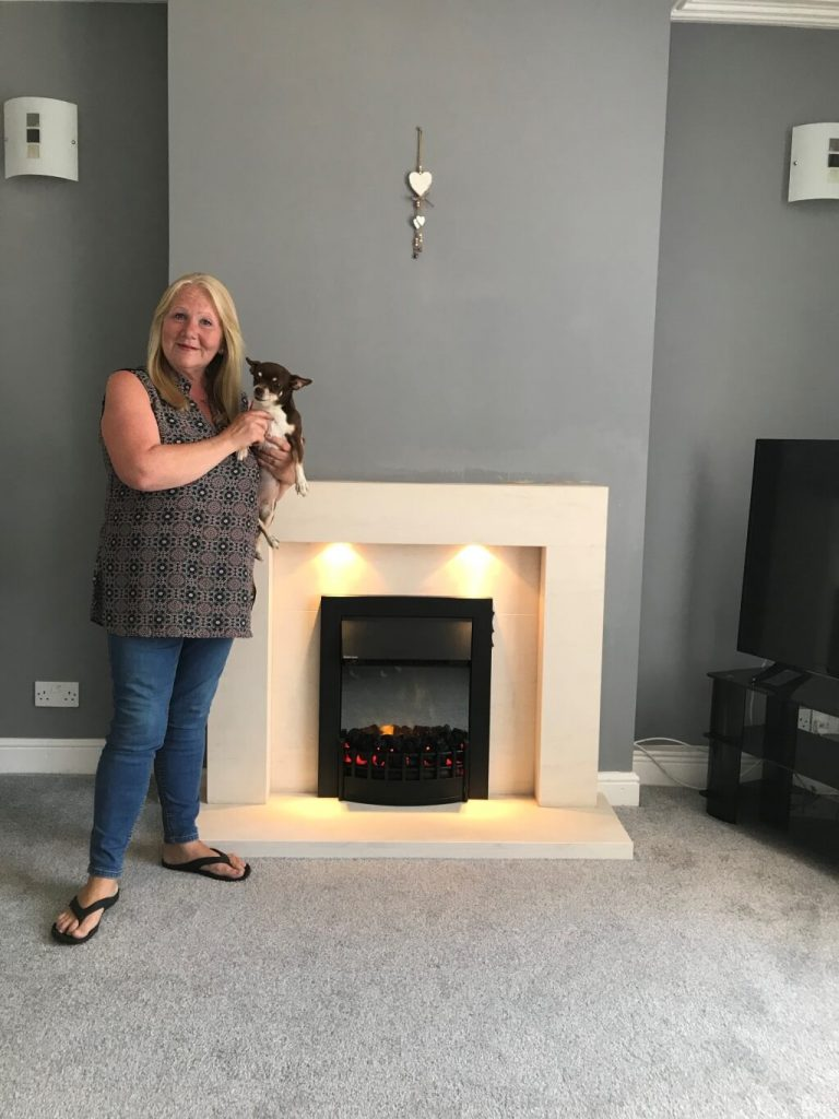 competition winner fireplace